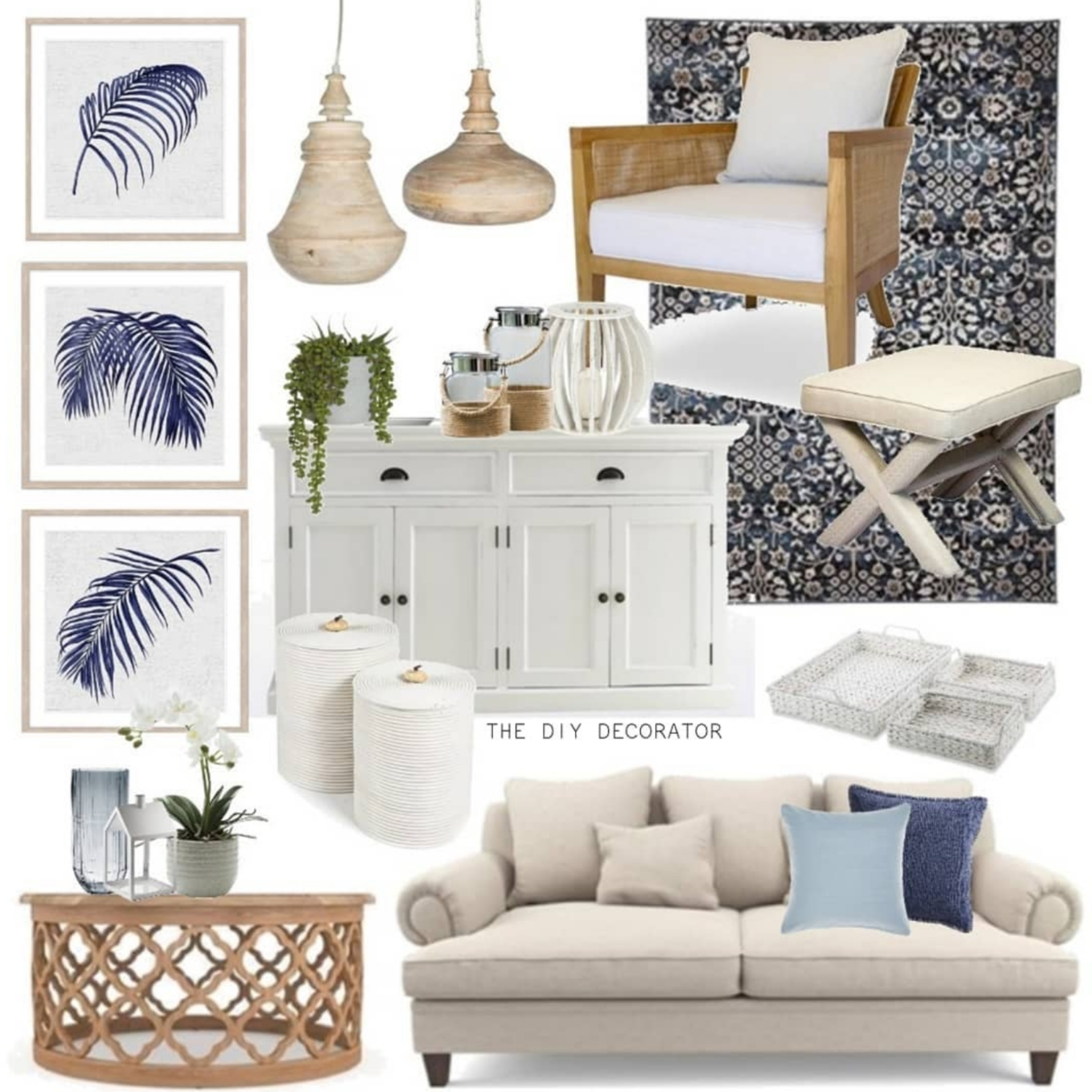 Hamptons Home Styling With I Wanna Go Home – THE DIY DECORATOR